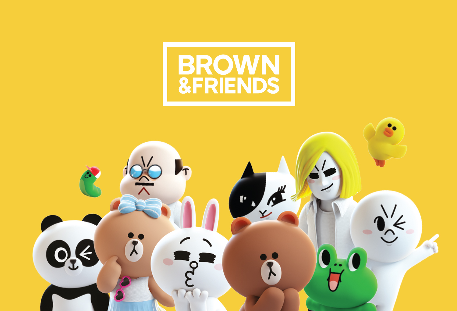 BROWN & FRIENDS